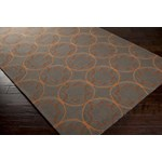 "Surya Rain Wenge (RAI-1095) Rectangle 8'0"" x 10'0"""