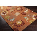 "Surya Rain Moss (RAI-1104) Rectangle 3'0"" x 5'0"""