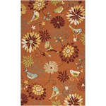 "Surya Rain Moss (RAI-1104) Rectangle 5'0"" x 8'0"""
