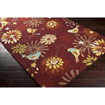 "Surya Rain Carnelian (RAI-1106) Rectangle 2'0"" x 3'0"""