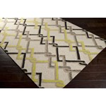"Surya Rain Ivory (RAI-1122) Rectangle 3'0"" x 5'0"""