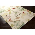 "Surya Rain Ivory (RAI-1126) Rectangle 9'0"" x 12'0"""