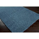 "Surya Shimmer Bright Cerulean (SHI-5004) Rectangle 2'0"" x 3'0"""