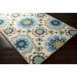 "Surya Storm Parchment (SOM-7705) Rectangle 2'0"" x 3'0"""