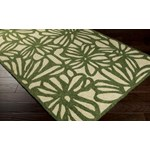 "Surya Storm Spruce Green (SOM-7735) Rectangle 2'0"" x 3'0"""