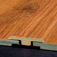"Armstrong Premier Classics Laminate Flooring: T-mold Brindle Oak - 72"" Long"